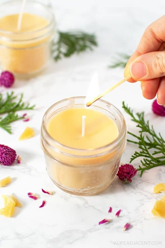 As a candle's scent spreads through the home, our mood can be uplifted and stress reduced, thanks to aromatherapy. For that reason, a DIY scented candle is more valuable than any other home decoration.