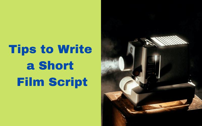 How to write short film script