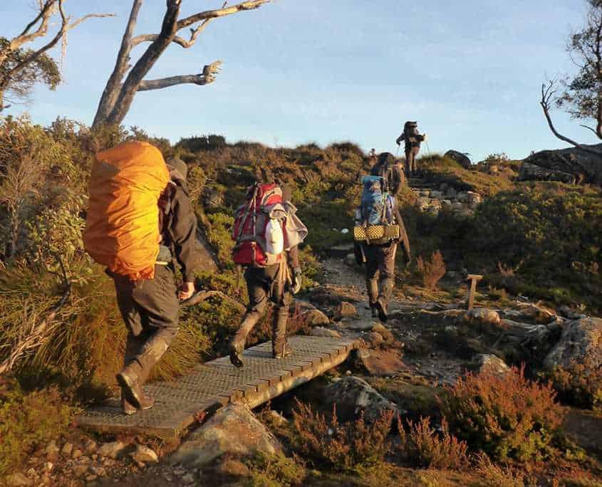 Trekking the Overland Track in Tasmania