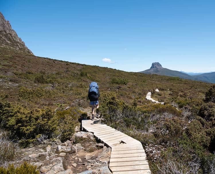 Walking the Overland Track in Tasmania
