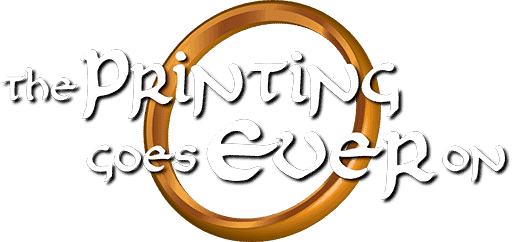 the printing goes ever on patreon logo transparent background