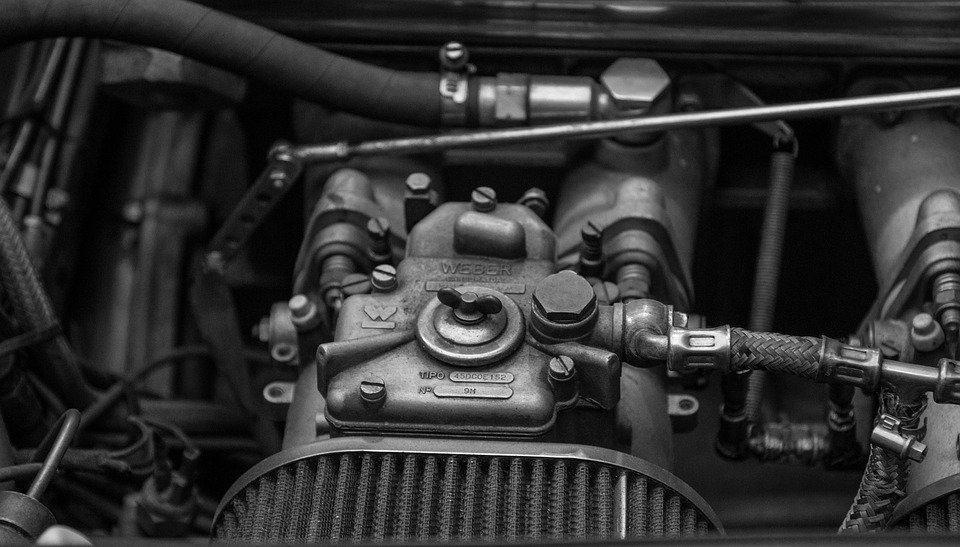 Auto, Motor, Carburetor, Car Engine, Industry, Vehicle
