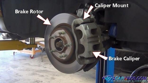 How to Replace Front Brake Pads and Rotors in Under 90 Minutes   Brake pads and rotors, Front brakes, Brakes and rotors