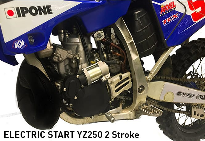 Its Real Electric Start For Yamaha Yz250 And 250x 2 Stroke