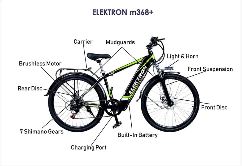 Elektron Electric cycle m365 Specifications