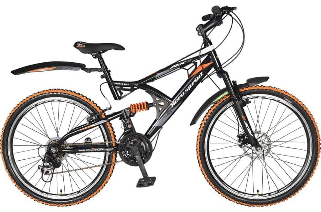 Hero RX2 Sprint - Gear Cycle with double Disk Brake