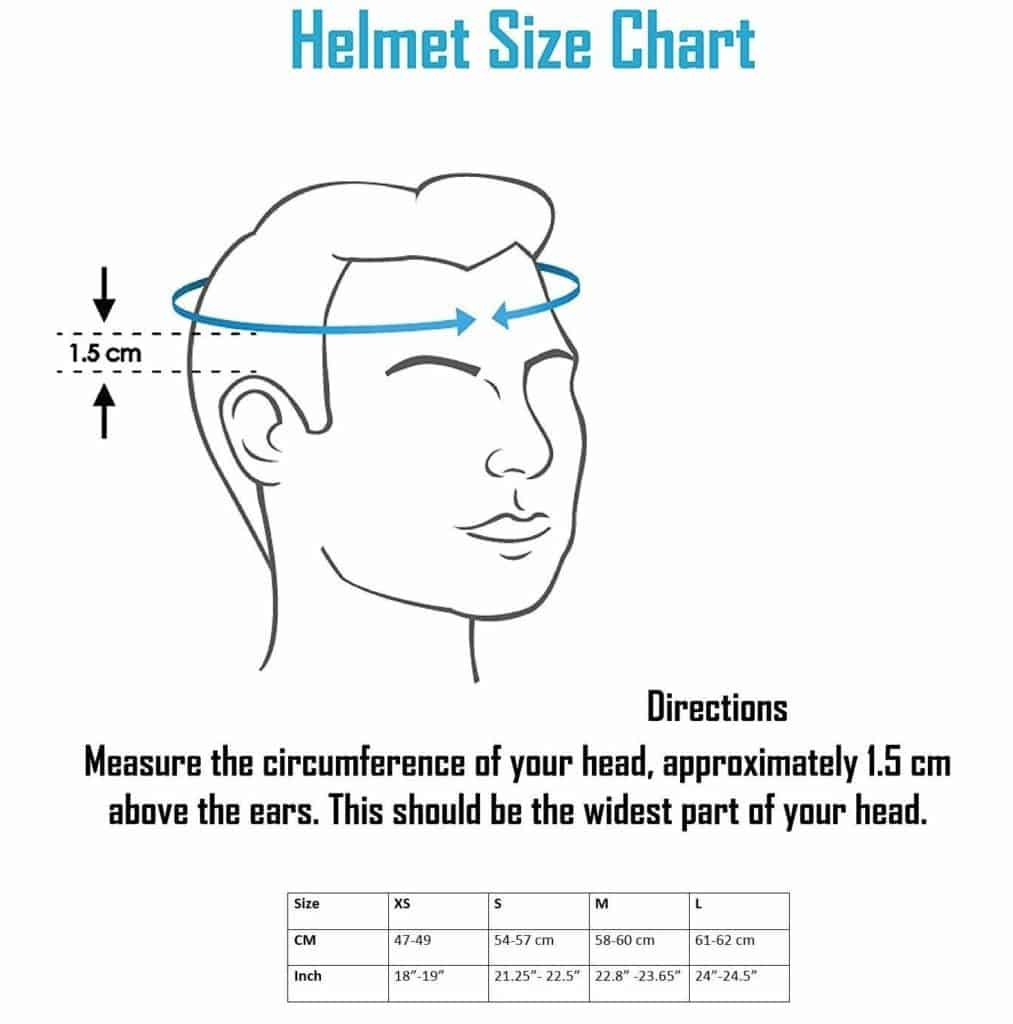 How to choose right size Cycling Helmet