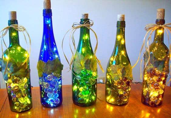 Resultado de imagem para decorar a casa com vinho