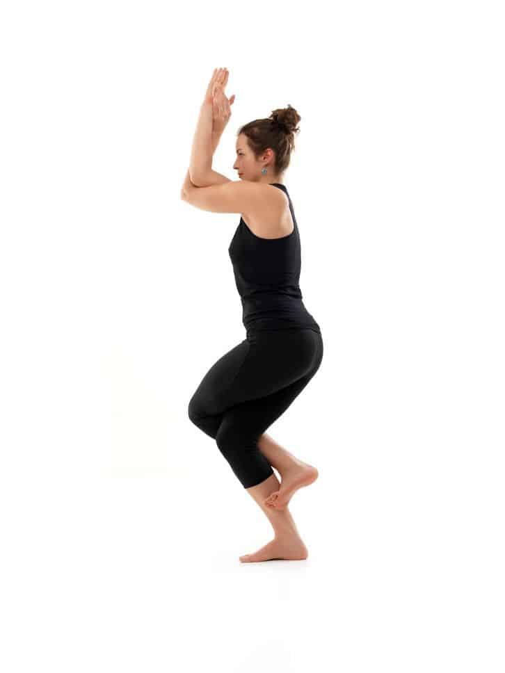 Positions de yoga Utkatasana