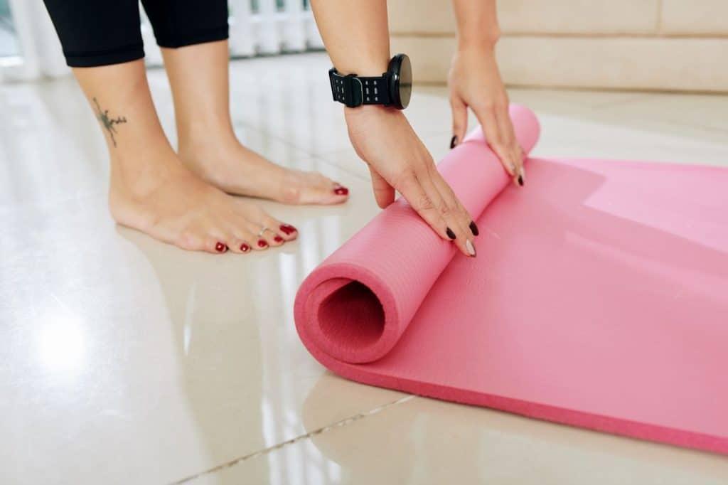 Trouver le bon tapis de yoga