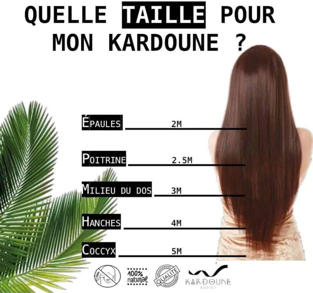 comment choisir taille du kardoune