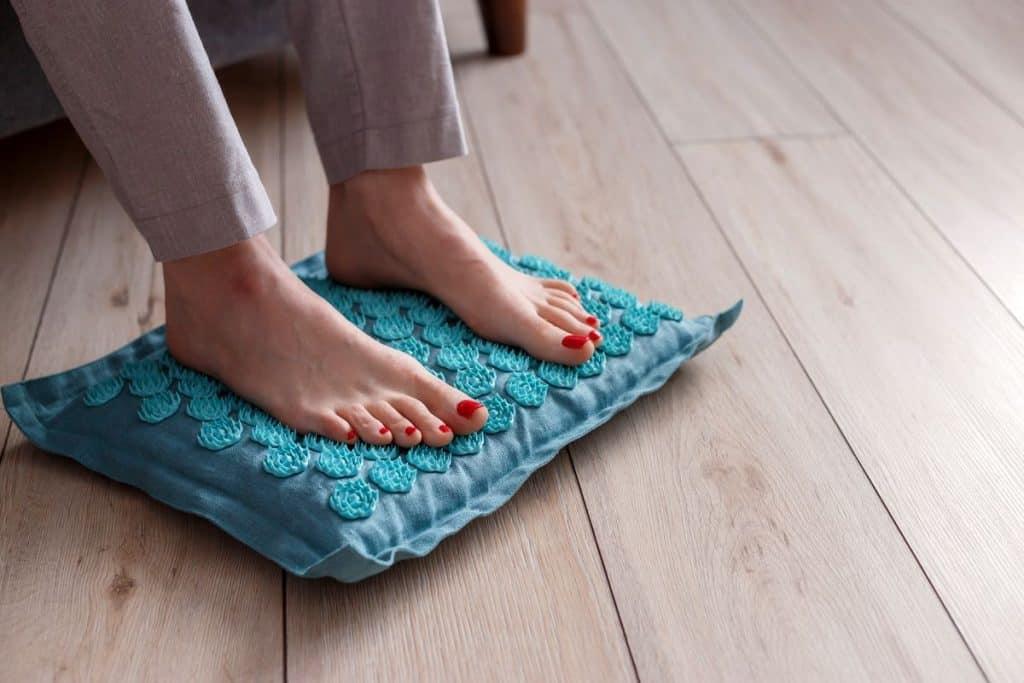 tapis d'acupression pour les pieds