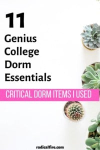 11 Critical Items You Need For Your Dorm (Or Apartment)