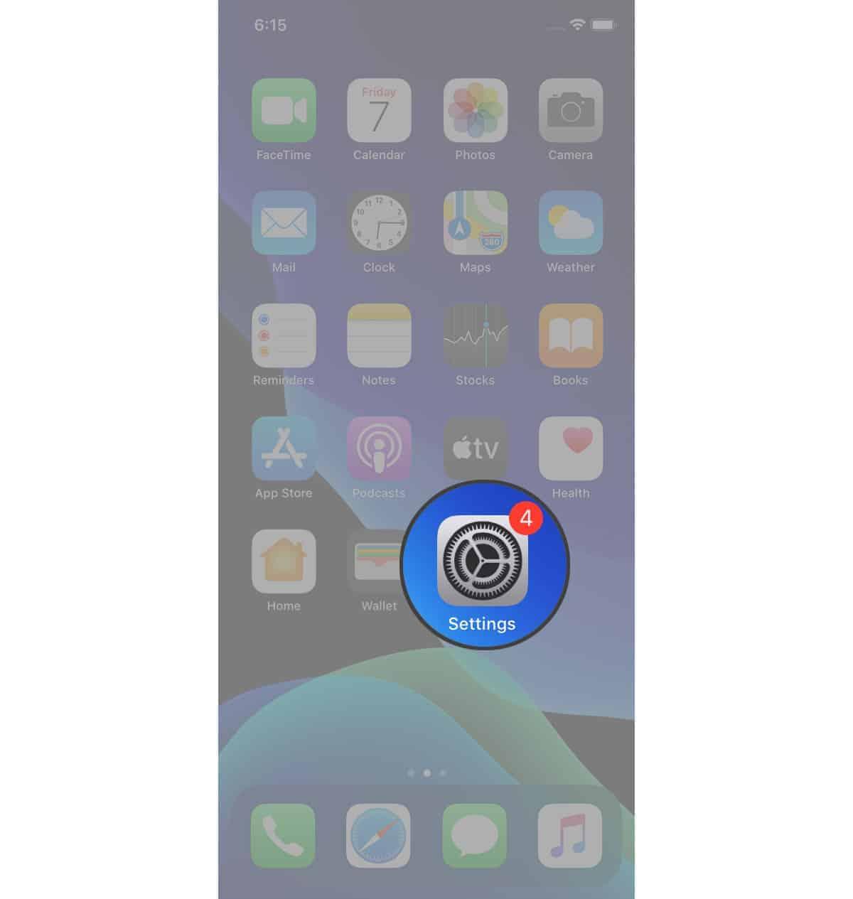 reset iphone settings
