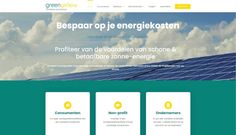 GreenYellow Website