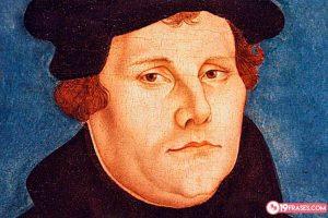 19 Frases de Martín Lutero, un monje que le dio un vuelco al catolicismo