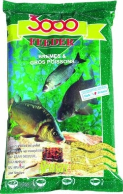 SENSAS Vnadiaca zmes 3000 FEEDER bream big fish 1kg