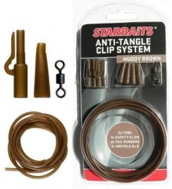 STARBAITS Anti Tangle Clip System (montáž) - zelená