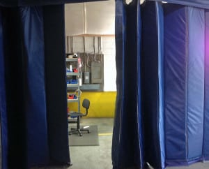 Insulated Curtain Enclosure