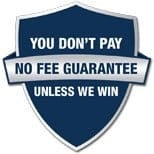 No Fees, Unless We Win Your Case
