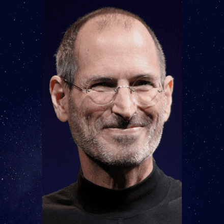 STEVE JOBS PROFILE PIC