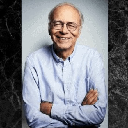 PROFILE PIC OF WRITER PETER SINGER