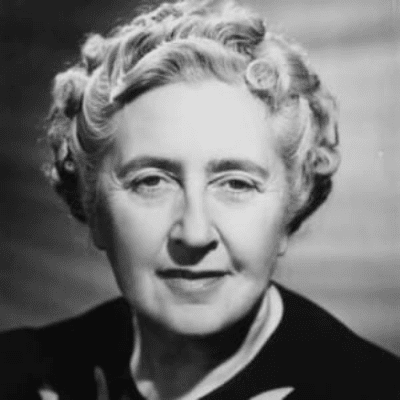 PROFILE PICTURE OF WRITER AGATHA CHRISTIE
