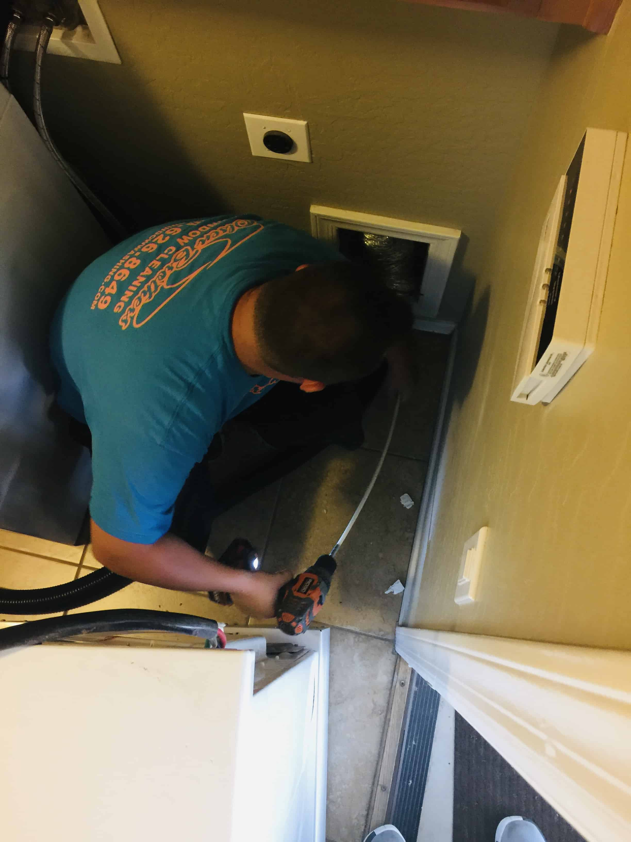 we offer dryer vent cleaning service