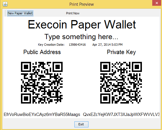 execoin_paper_wallet