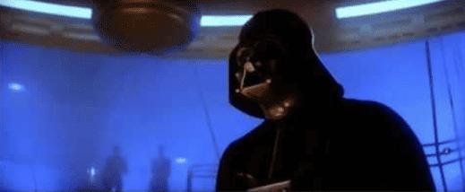Darth Vader altering the deal
