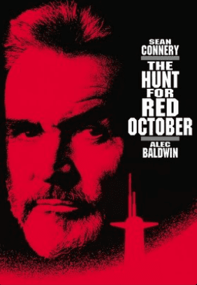Hunt for Red October movie cover