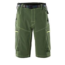 Ynport Men's Fast Dry Loose Fit MTB Shorts Mountain Bike Cycling Pants with Belt(No Padding)
