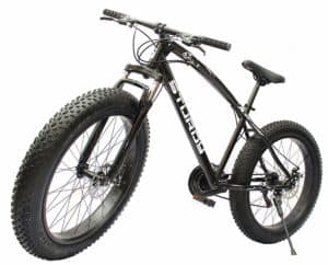 Black Fat bike India