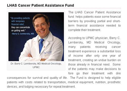 caner patient assistance fund 7302015