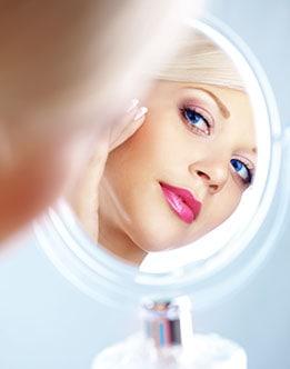 Restylane, Restylane Silk, looking into mirror,