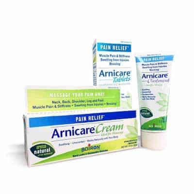 Arnicare cream, tablets, ointments, sclerotherapy, cosmetic injectables