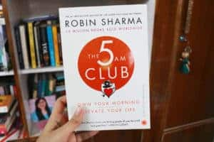 The 5 AM Club by Robin Sharma Review Author Book Novel Review Rating