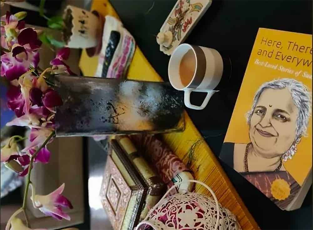 Here There And Everywhere Best Loved Stories Of Sudha Murty Author Novel Review Rating Book