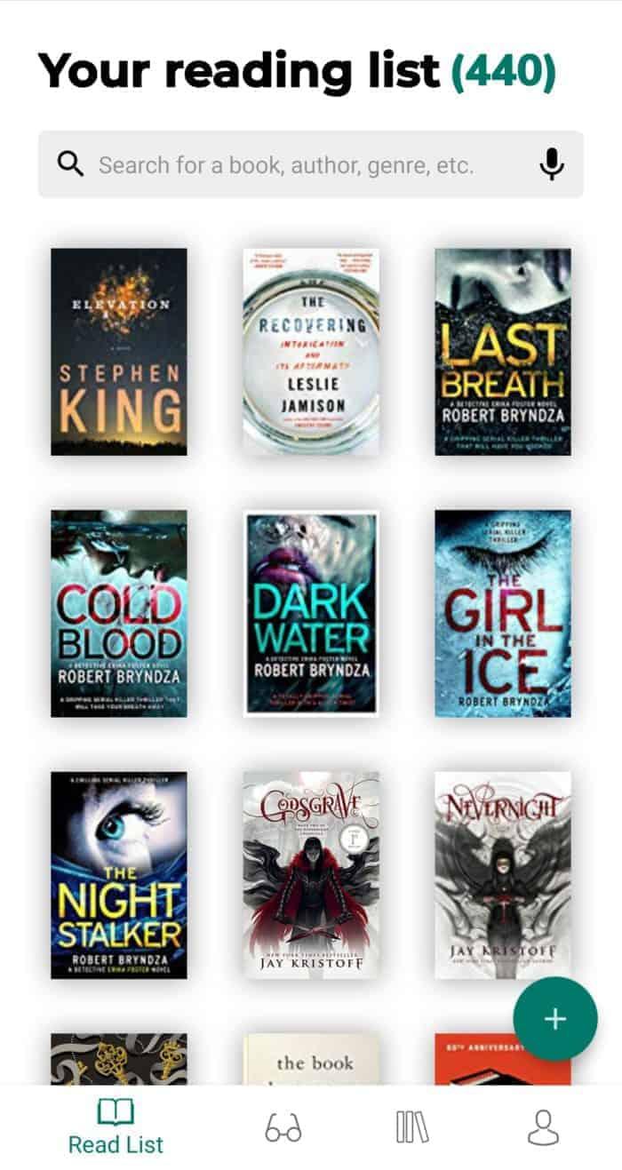 BookWritten Book Readlist App