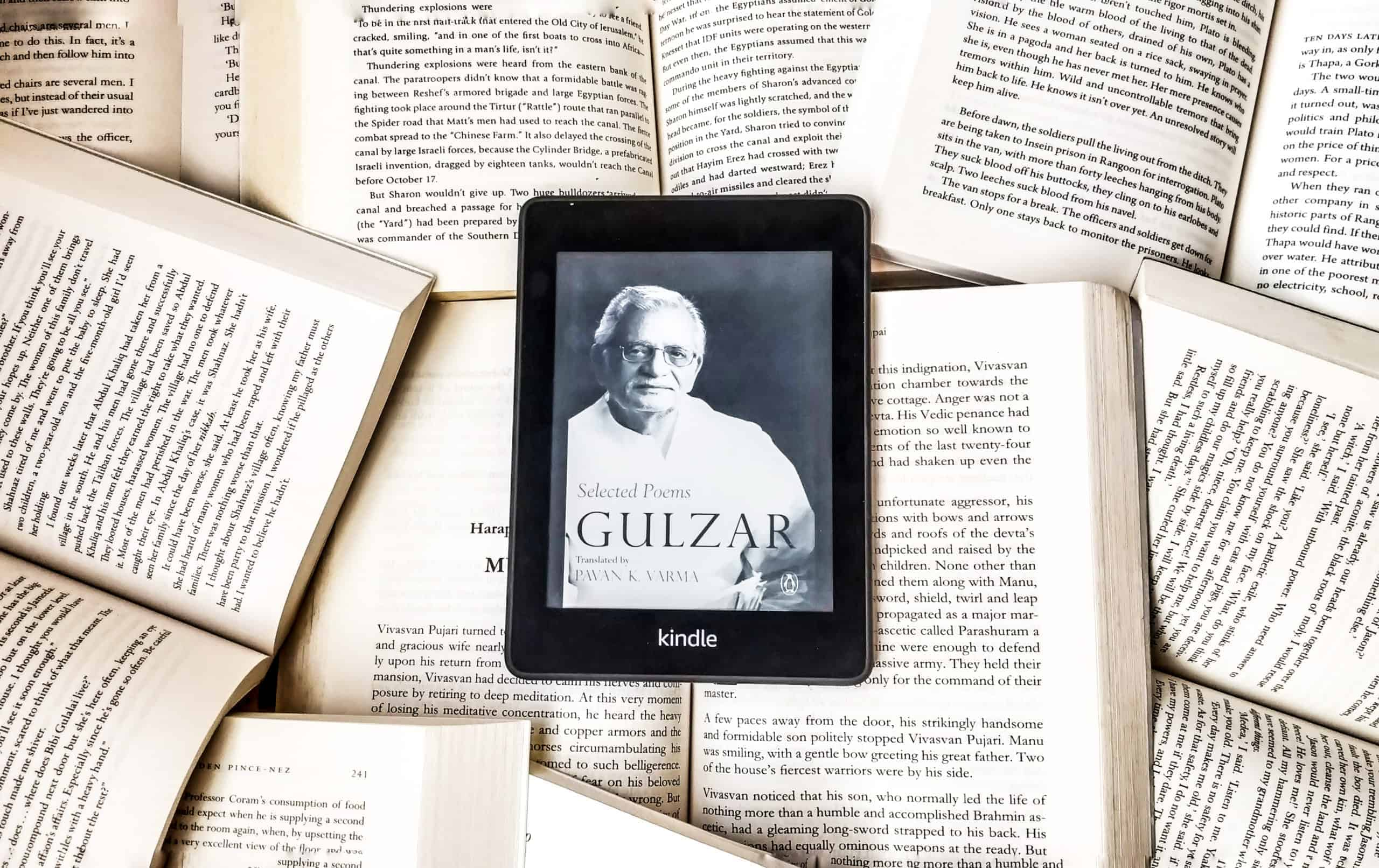 Selected Poems By Gulzar Poet Poetry Author Book Novel Review Rating