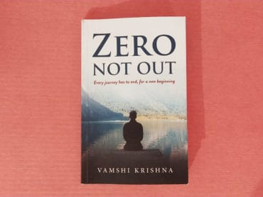 Zero Not Out By Vamshi Krishna Author Book Novel Review Rating