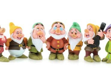 What Are The Names Of The Seven Dwarfs Disney Snow White Book Movie Animation