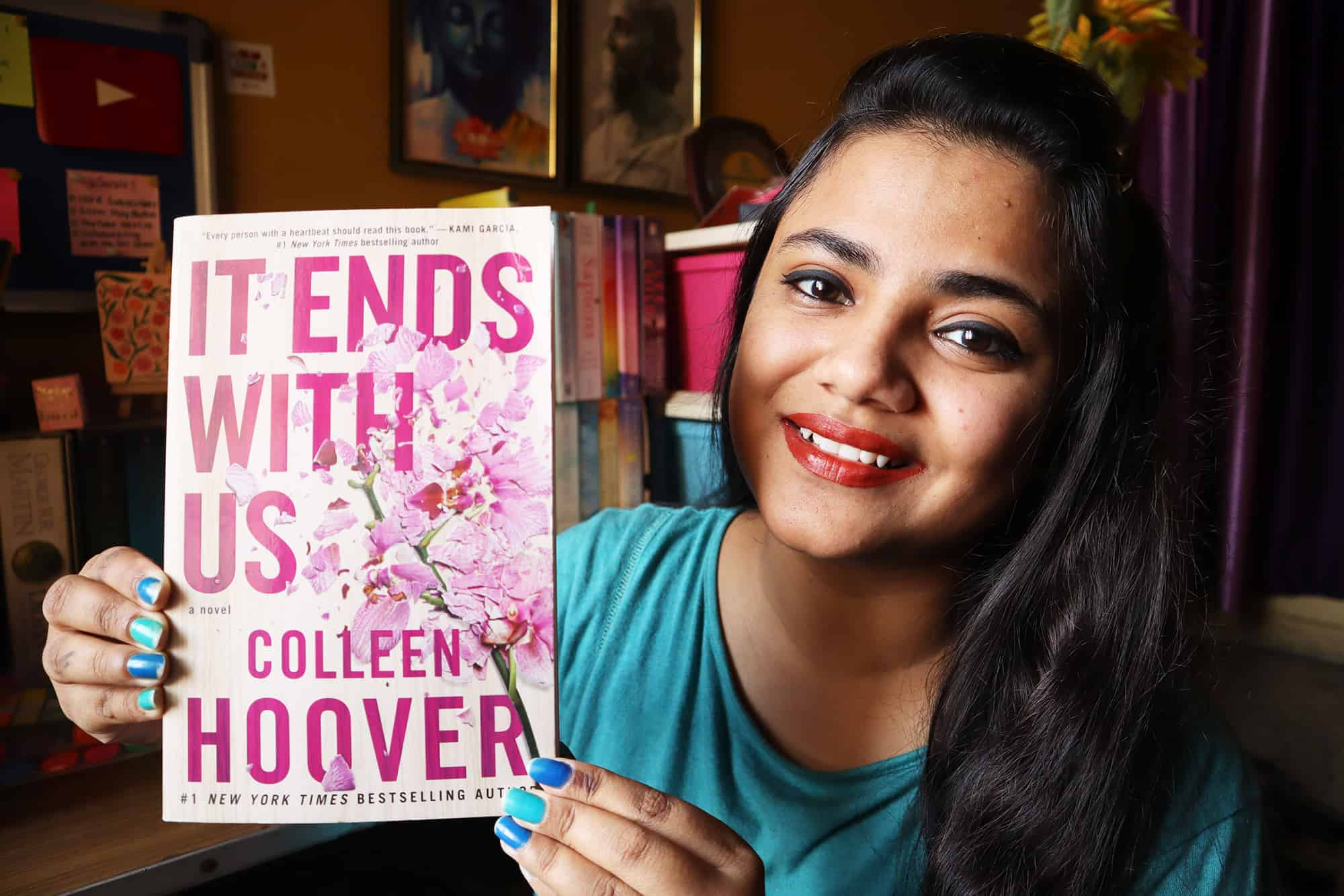 It Ends With Us Novel Colleen Hoover Author Review Rating Summary