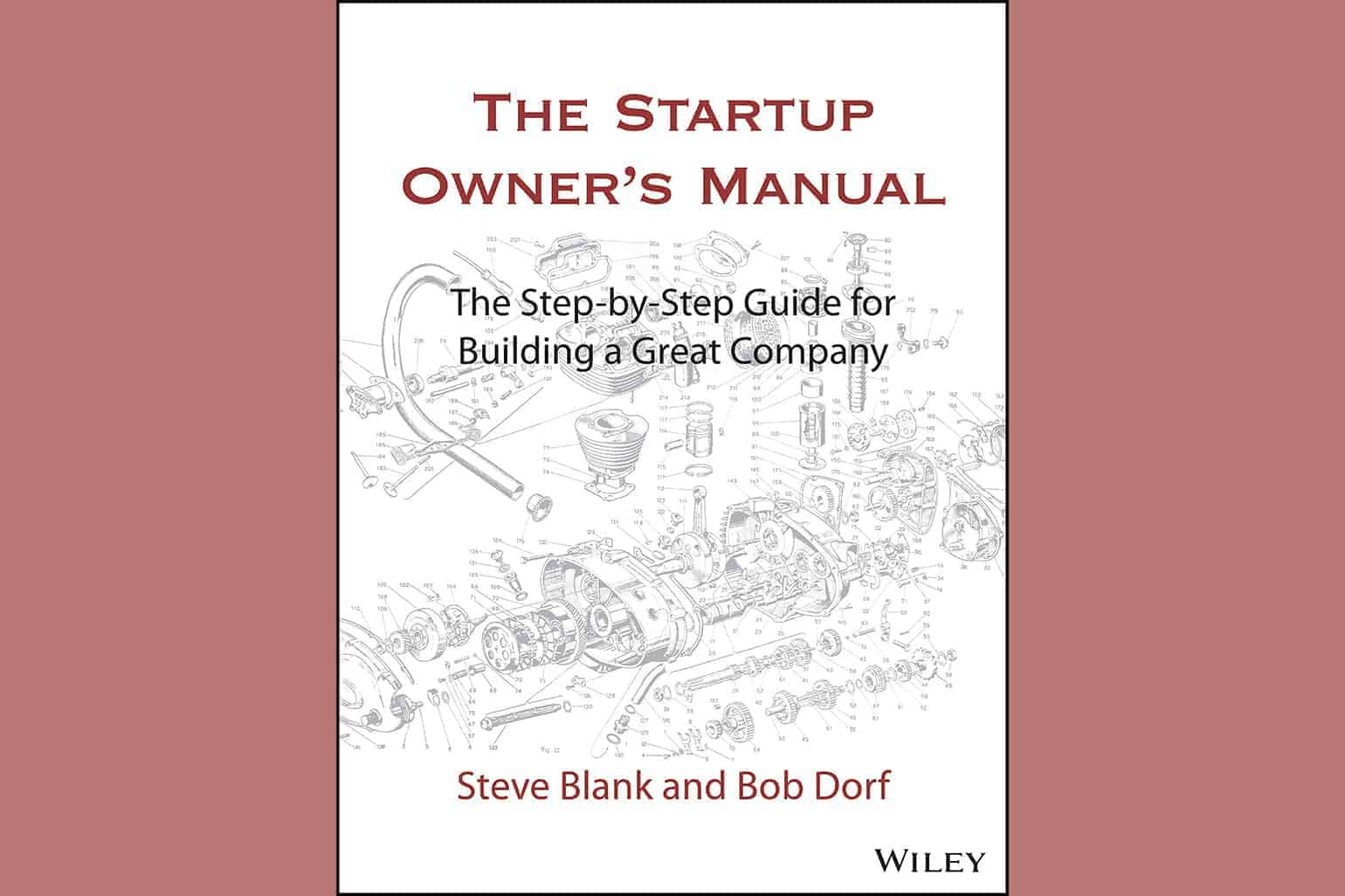 The Startup Owners Manual The Step By Step Guide For Building A Great Company By Steve Blank And Bob Dorf