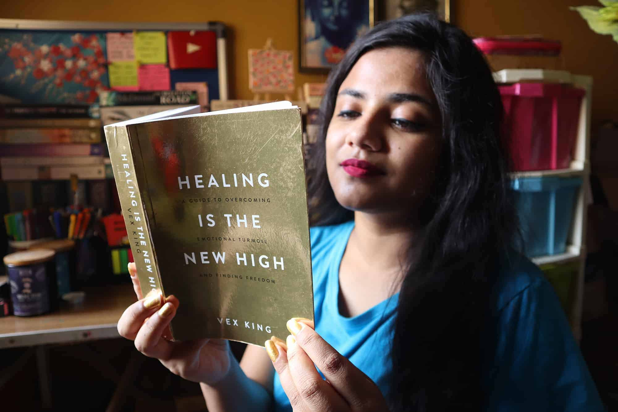 Healing Is The New High A Guide To Overcoming Emotional Turmoil And Finding Freedom By Vex King