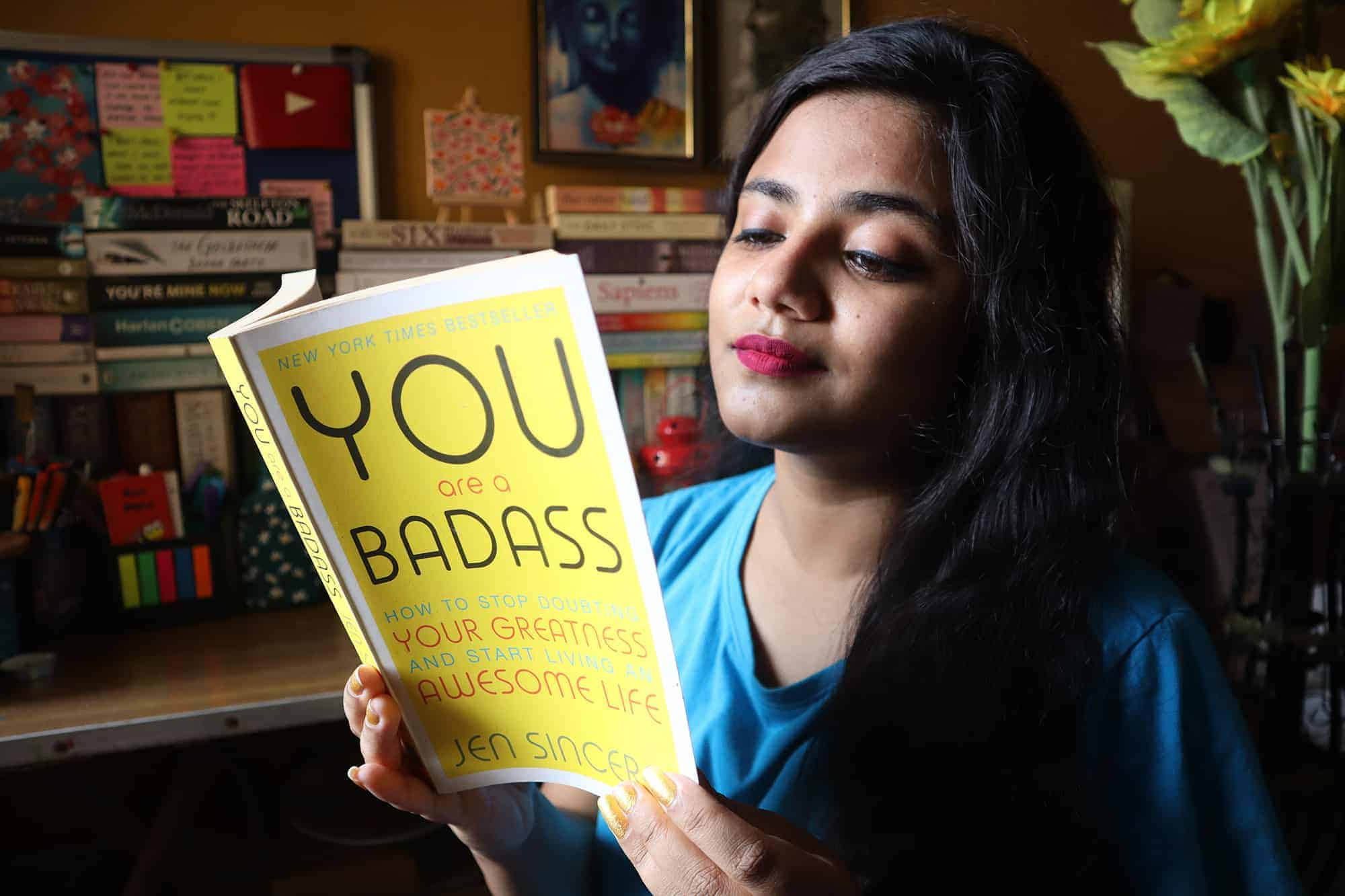 You Are A Badass How To Stop Doubting Your Greatness And Start Living An Awesome Life By Jen Sincero