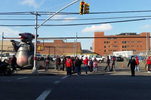 Photos and Video: Striking Workers Picket Outside Bushwick Verizon Facility