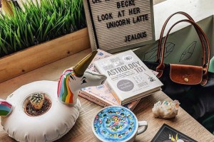 Home of the Unicorn Latte Re-Opens with New Astrology-Inspired Beverages