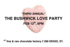Eat Bushwick-Made Chocolate for a Good Cause at the #BushwickLoveParty