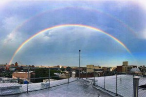 Photos: Our Favorite Instagram Pix of Yesterday Evening's Breathtaking Double Rainbow Over Bushwick